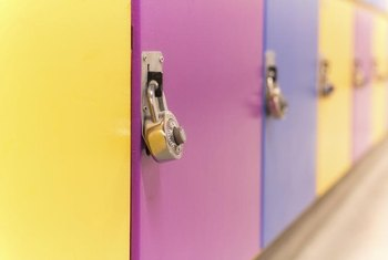 Lockers Come In All Colors Of Metallic Or Glossy Paint.