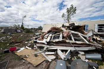 Even very weak tornados can destroy manufactured homes not strapped down.
