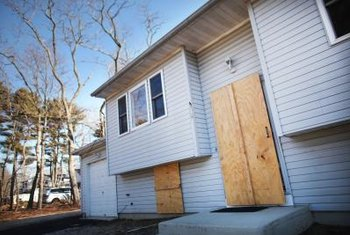 Foreclosed property buyers are sometimes forced to evict the old owners.