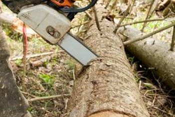 Using your chainsaw properly is one way to prevent overheating.