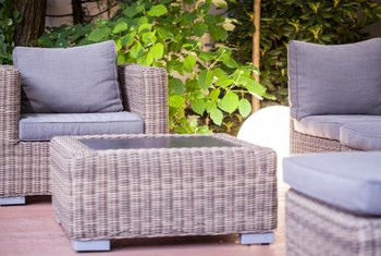 Give your patio a new look with custom cushions.