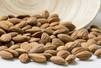 Almonds are packed with beneficial nutrients.