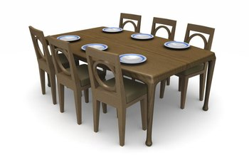 How Much Space Does A Foot Table With Chairs Need Home Guides - 6 foot dining room table