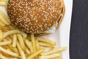 Fast food doesn't offer much in the way of nutrition.