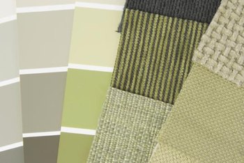 Complement Organic Sage Green Walls With A Quilt Featuring Other Natural Greens Or Earth Tone Shades