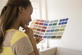 Select a paint scheme using several different designer techniques.