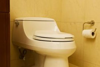 Your hissing toilet may or may not be leaking.