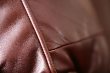 Leather develops wrinkles and creases naturally with time.