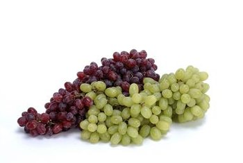 Seedless grapes aren't really seedless -- the tiny seeds are absorbed into the flesh of the grape.