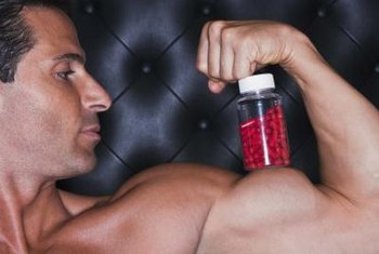 Amino acid supplementation helps support muscle building.