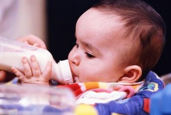 Organic baby formula may provide extra vitamin C.