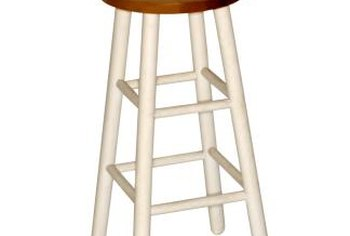 How To Paint A Barstool Home Guides Sf Gate