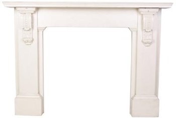 Antique your mantle to emphasize its detail.