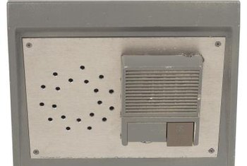 Select a door intercom in a style and finish that suits your preference.