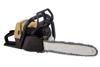 Chainsaw blades are made up of the cutting chain and the bar that supports the chain.