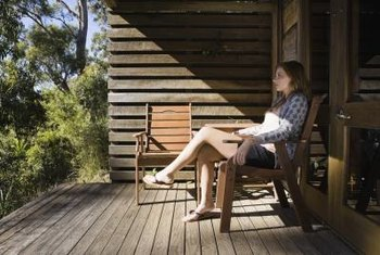A wooden deck is an efficient equity-building home addition.