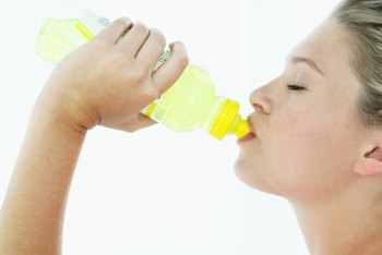 Electrolyte drinks can lead to high sodium levels if you drink too much.