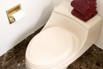 Replacing a toilet can save many gallons of water a day.