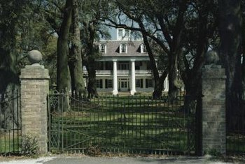 Look to Southern plantation mansions for your renovation.