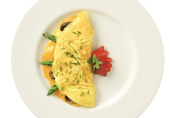 High in protein, eggs can be a nutritious part of a low-carbohydrate menu.