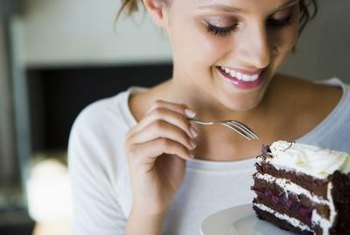 Dessert indulgences could be to blame for your high triglyceride levels.