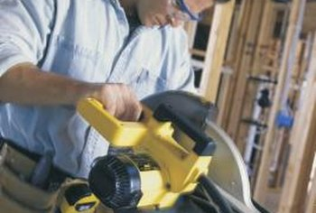 How to replace the blade in a ryobi 10 inch power miter saw model replacing a ryobi miter saw blade is similar to the replacement procedure on other saws greentooth Choice Image