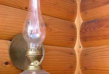 Trim wicks to improve oil lamp performance.
