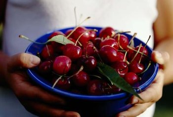 "A bowlful of ""Bing"" cherries makes life sweet."