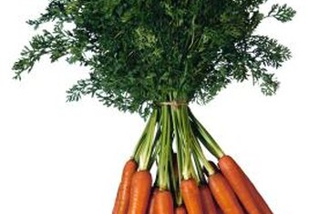 Carrots can thrive in a stacked-tire container outside your kitchen door.
