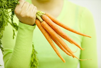 Carrots won't cause a rapid increase in your blood sugar.
