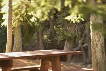 How To Seal A Treated Wood Picnic Table Home Guides SF Gate - Treated lumber picnic table