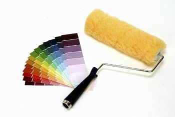 Proper roller brush techniques eliminate unsightly paint blemishes.