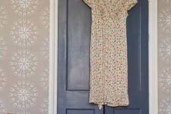 "Keep the backs of bedroom doors perfectly clear to prevent ""stuck"" energy around clutter."