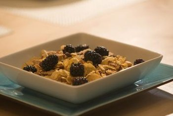 Enriched breakfast cereal supplies three vitamins that lower homocysteine.