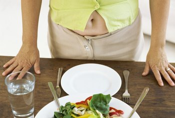 Eat a healthy diet to help you lose weight and reduce belly fat.