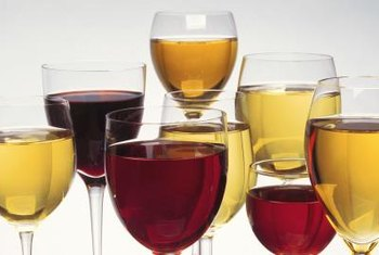 The right shaped glass helps enhance the flavor and bouquet of wine.