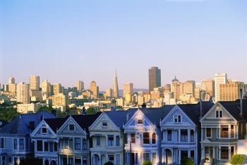 The FHA sets the highest loan limits for metropolitan areas, such as San Francisco.