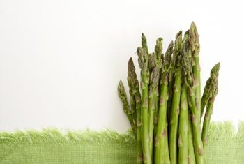 Asparagus bushes are perennials that last for up to 20 years.