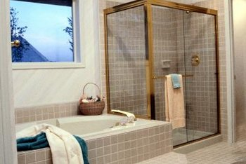 Removing a shower stall yourself can reduce total project cost.