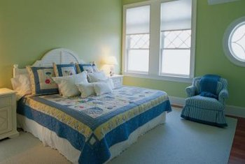 Use Bedding Colors As Inspiration For A Coordinated Bedroom Color Scheme