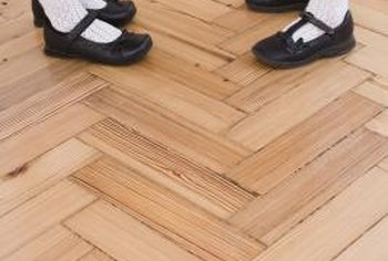 Parquet floor patterns run the gamut from basic geometric designs to intricate works of art.