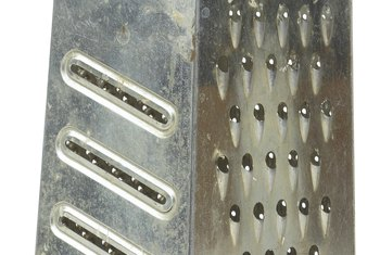 Hand-wash a grater to prevent rust spots.