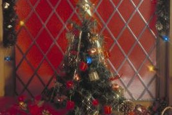 kick your christmas decor up by adding diy sinamay mesh decor