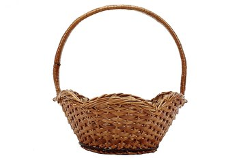 Replacement fibers for wicker baskets are available at some craft stores and basket-making supply shops.