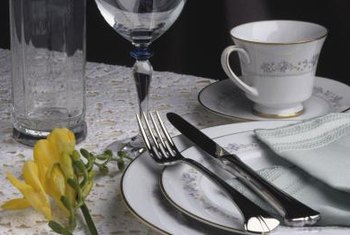 Noritake fine-bone china brings elegance to dining.