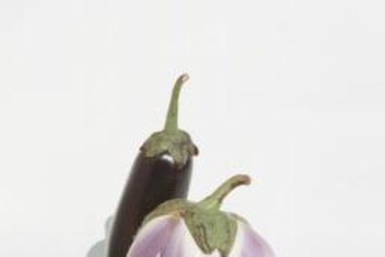 Eggplants originated in India and were cultivated sometime around 500 B.C.
