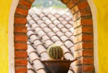 Regular potting soil holds too much moisture for cacti, which require a well-drained medium.