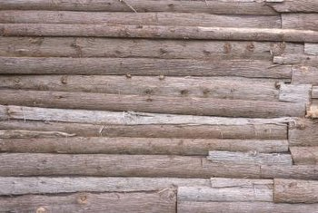 Logs are attractive in a home for their rustic nature.