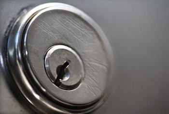 A rekeyed lock uses the original lock assembly but has new pins and key.