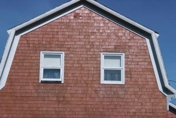 Shingle siding is appropriate for both new construction and many historic residences.